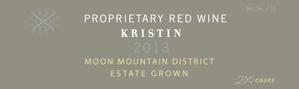 2013 Korbin Kameron Proprietary Red Blend Kristin