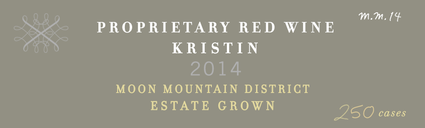 2014 Korbin Kameron Proprietary Red Blend Kristin