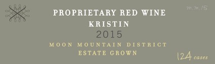 2015 Korbin Kameron Proprietary Red Blend Kristin